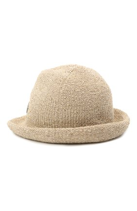 Женская шляпа LORENA ANTONIAZZI бежевого цвета, арт. P2189CE002/2815 | Фото 2 (Материал: Текстиль, Лен)