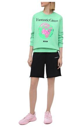 Женские хлопковые шорты HELMUT LANG черного цвета, арт. K10DW211 | Фото 2