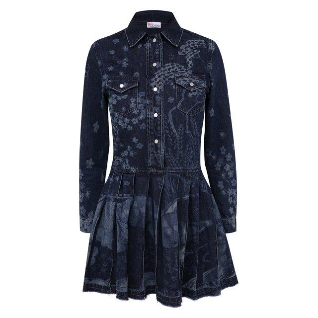 Джинсовое платье REDVALENTINO