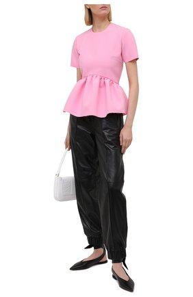 Женский топ MSGM светло-розового цвета, арт. 3041MDM07 217100 | Фото 2