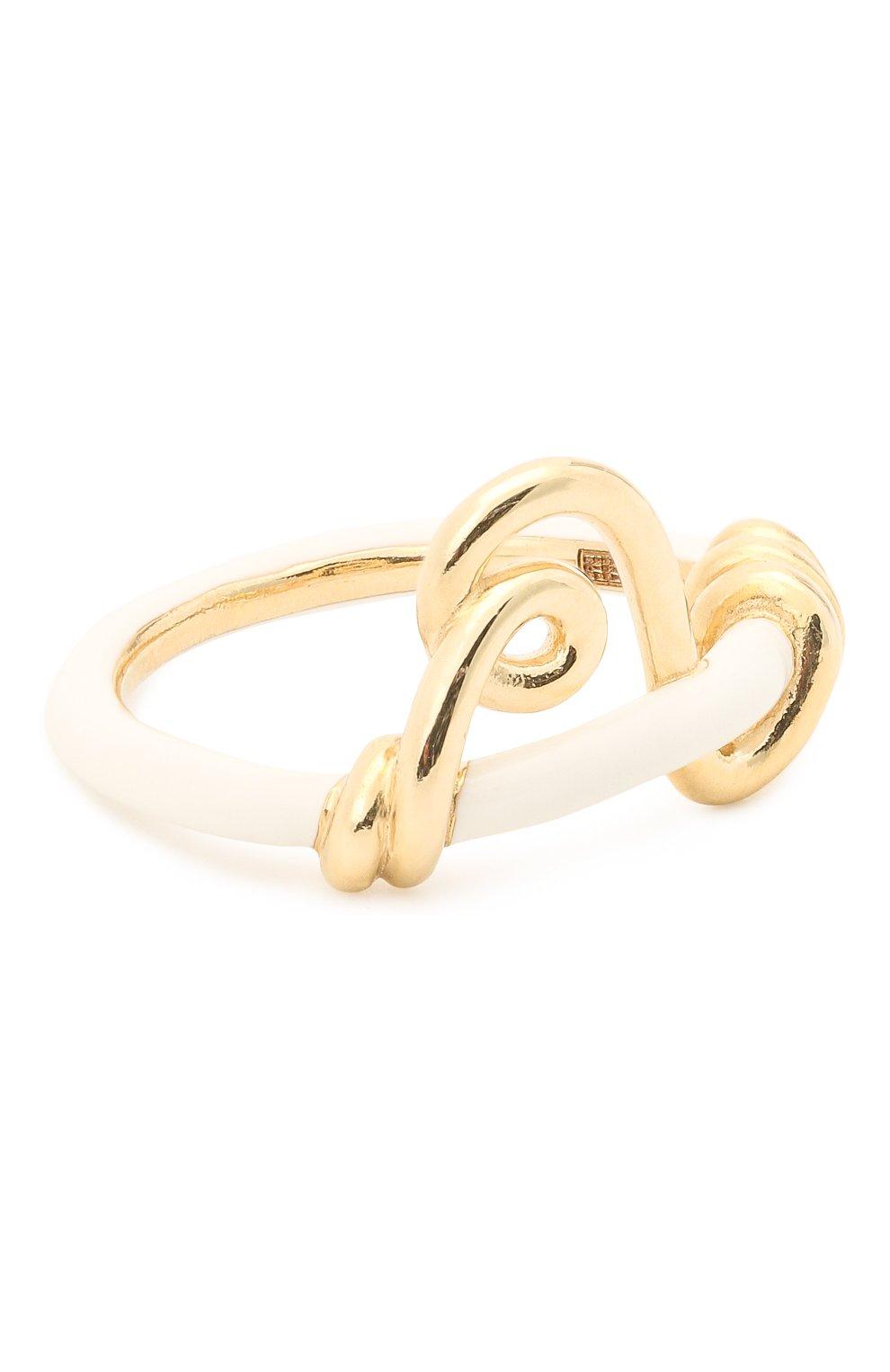Женское кольцо BEA BONGIASCA белого цвета, арт. VR117YG-W/M   Фото 1 (Материал: Металл)