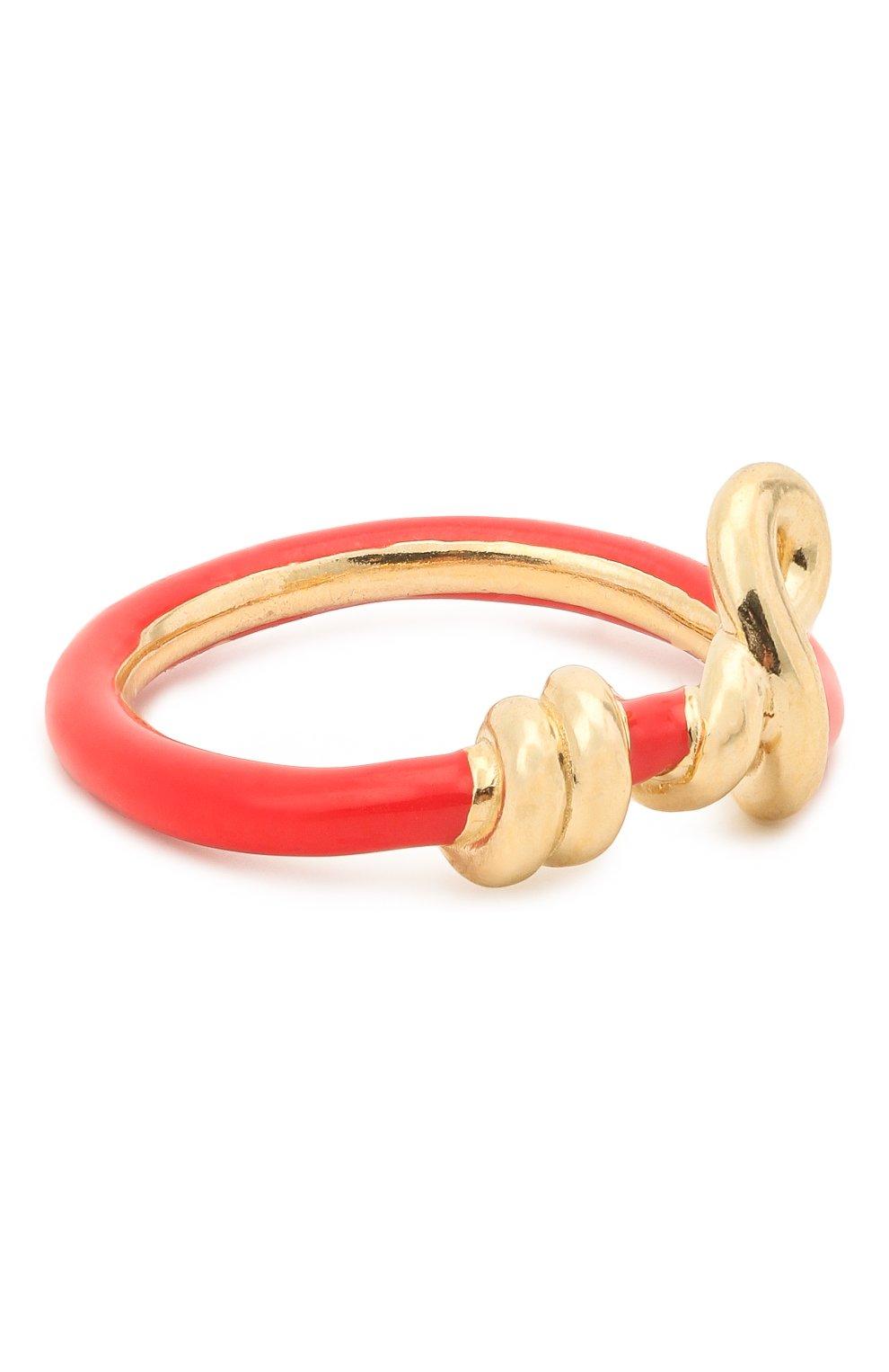 Женское кольцо BEA BONGIASCA красного цвета, арт. VR119YG-R/M   Фото 1 (Материал: Металл)