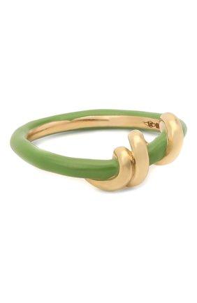 Женское кольцо BEA BONGIASCA зеленого цвета, арт. VR122YG-G/M | Фото 1