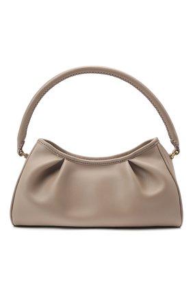 Женская сумка dimple ELLEME темно-бежевого цвета, арт. DIMPLE/LEATHER | Фото 1