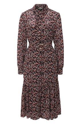 Женское платье MICHAEL MICHAEL KORS бордового цвета, арт. MH08000E7M | Фото 1