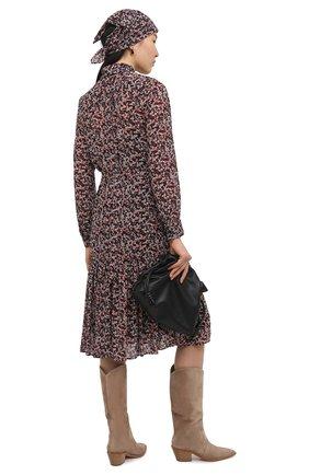Женское платье MICHAEL MICHAEL KORS бордового цвета, арт. MH08000E7M | Фото 2