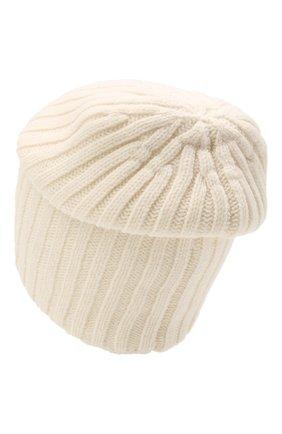 Мужская шерстяная шапка soft CANOE белого цвета, арт. 4714100 | Фото 2