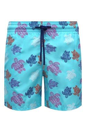 Мужские плавки-шорты VILEBREQUIN голубого цвета, арт. MOOH0B36/381 | Фото 1