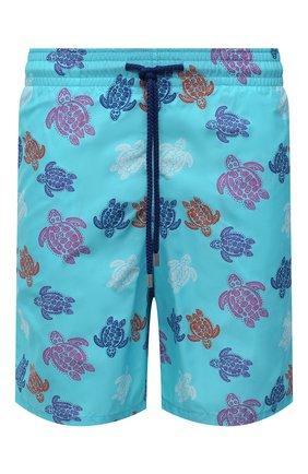 Мужские плавки-шорты VILEBREQUIN голубого цвета, арт. OKOH0B36/381 | Фото 1