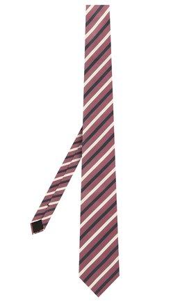 Мужской шелковый галстук BOSS розового цвета, арт. 50452362 | Фото 2