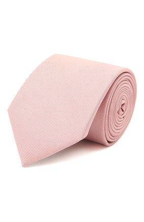 Мужской шелковый галстук BOSS розового цвета, арт. 50451922 | Фото 1