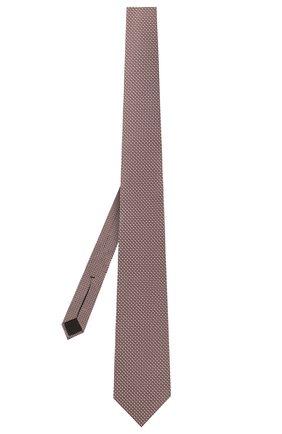 Мужской шелковый галстук BOSS розового цвета, арт. 50452270 | Фото 2