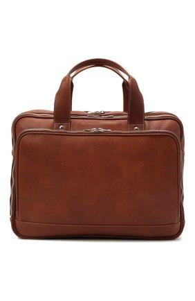 Кожаная сумка для ноутбука   Фото №1
