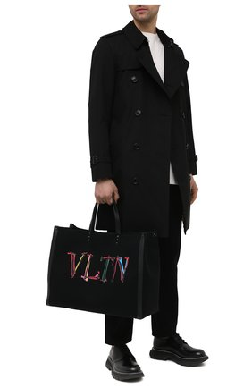 Текстильная сумка-шопер VLTN Graph | Фото №2