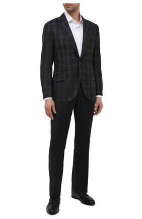 Мужские кожаные пенни-лоферы webb BALLY черного цвета, арт. WEBB/510 | Фото 2 (Материал внутренний: Натуральная кожа; Стили: Классический)