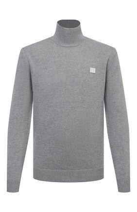 Мужской шерстяной свитер ACNE STUDIOS серого цвета, арт. C60029/M | Фото 1