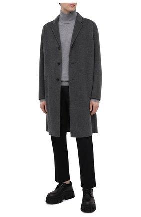 Мужской шерстяной свитер ACNE STUDIOS серого цвета, арт. C60029/M | Фото 2