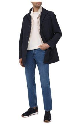Мужские джинсы ERMENEGILDO ZEGNA голубого цвета, арт. UWI75/JS01 | Фото 2
