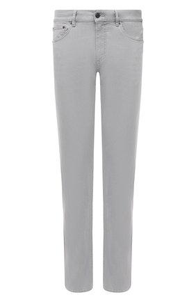 Мужские джинсы ERMENEGILDO ZEGNA светло-серого цвета, арт. UWI77/JS01 | Фото 1
