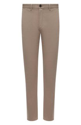 Мужские хлопковые брюки Z ZEGNA бежевого цвета, арт. VW148/ZZ369 | Фото 1