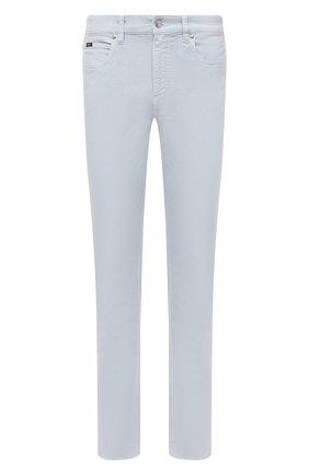 Мужские джинсы Z ZEGNA светло-голубого цвета, арт. VW758/ZZ530 | Фото 1 (Материал внешний: Хлопок; Длина (брюки, джинсы): Стандартные; Кросс-КТ: Деним; Стили: Кэжуэл; Силуэт М (брюки): Прямые)