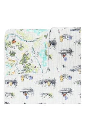 Детского хлопковое одеяло ADEN+ANAIS разноцветного цвета, арт. DISN250G   Фото 1