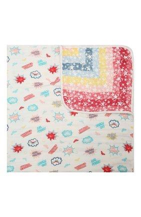Детского хлопковое одеяло ADEN+ANAIS разноцветного цвета, арт. EMBC10005WB   Фото 1