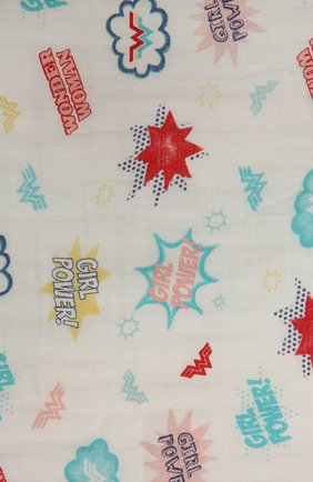 Детского хлопковое одеяло ADEN+ANAIS разноцветного цвета, арт. EMBC10005WB   Фото 2