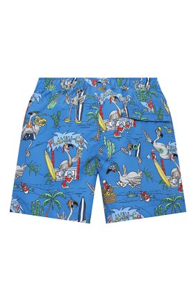 Детские плавки-шорты STELLA MCCARTNEY синего цвета, арт. 602342/SQK36 | Фото 2