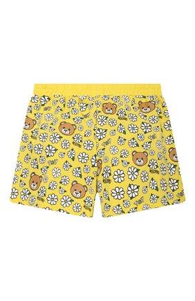 Детский комплект из топа и шорт MOSCHINO желтого цвета, арт. HDG006/LBB57/10A-14A | Фото 6