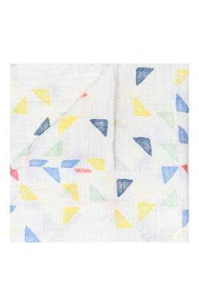 Детского комплект из четырех пеленок ADEN+ANAIS разноцветного цвета, арт. 2060G   Фото 2
