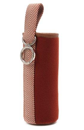 Мужской чехол для бутылки LORO PIANA красного цвета, арт. FAI9243/B0TTLE H0LDER   Фото 2
