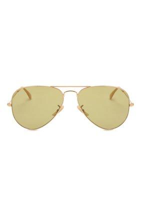 Женские солнцезащитные очки RAY-BAN золотого цвета, арт. 3025-90644C | Фото 4