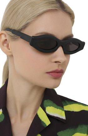 Женские солнцезащитные очки KUB0RAUM черного цвета, арт. Y5 BM2Y | Фото 2