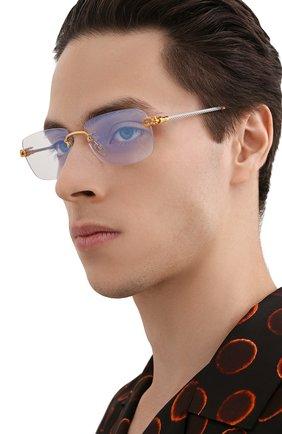 Мужские оправа FRED серебряного цвета, арт. FG50002U 032 | Фото 2