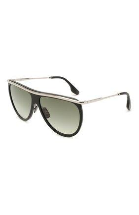 Женские солнцезащитные очки VICTORIA BECKHAM черного цвета, арт. S155 C01   Фото 1