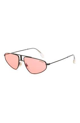 Женские солнцезащитные очки CARRERA розового цвета, арт. CARRERA 1021 0IT   Фото 1 (Оптика Гендер: оптика-унисекс; Тип очков: С/з; Очки форма: D-форма)