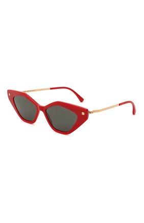 Женские солнцезащитные очки MYKITA красного цвета, арт. GAPI/801   Фото 1