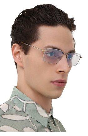 Мужские оправа FRED серебряного цвета, арт. FG50008U 018 | Фото 2