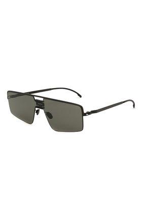 Женские солнцезащитные очки MYKITA черного цвета, арт. S0Y/BLACK/PITCHBLACK | Фото 1 (Тип очков: С/з; Очки форма: Прямоугольные; Оптика Гендер: оптика-унисекс)