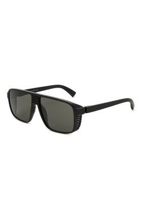Мужские солнцезащитные очки MYKITA MYLON черного цвета, арт. CANY0N/PITCH BLACK | Фото 1