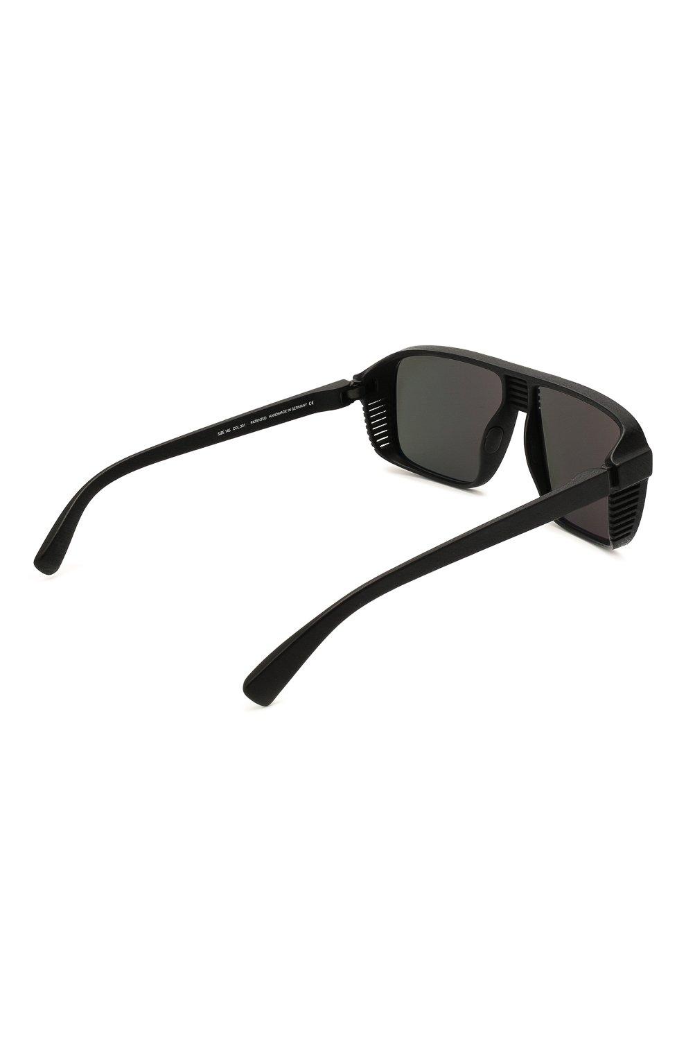 Мужские солнцезащитные очки MYKITA MYLON черного цвета, арт. CANY0N/PITCH BLACK | Фото 4