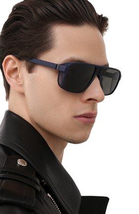 Мужские солнцезащитные очки MYKITA MYLON темно-синего цвета, арт. CANY0N/NAVY BLUE   Фото 2