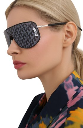 Женские солнцезащитные очки DIOR черного цвета, арт. DI0RULTRA 807 | Фото 2