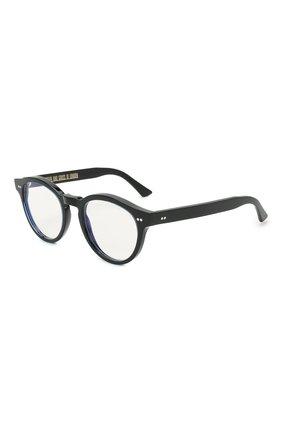 Женские солнцезащитные очки CUTLERANDGROSS черного цвета, арт. 137801 | Фото 1