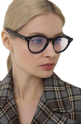 Женские солнцезащитные очки CUTLERANDGROSS черного цвета, арт. 137801 | Фото 2