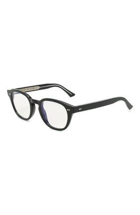 Женские солнцезащитные очки CUTLERANDGROSS черного цвета, арт. 138001 | Фото 1