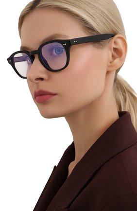Женские солнцезащитные очки CUTLERANDGROSS черного цвета, арт. 138001 | Фото 2