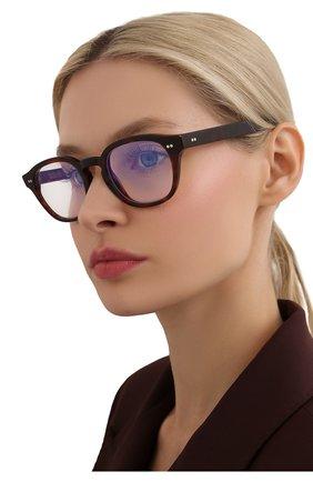 Женские солнцезащитные очки CUTLERANDGROSS коричневого цвета, арт. 138002 | Фото 2