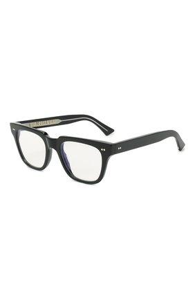 Женские солнцезащитные очки CUTLERANDGROSS черного цвета, арт. 138101 | Фото 1